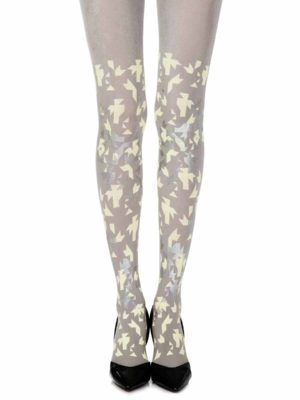 Zohara Tights Printed Opaque Hosiery R332 Lgsy