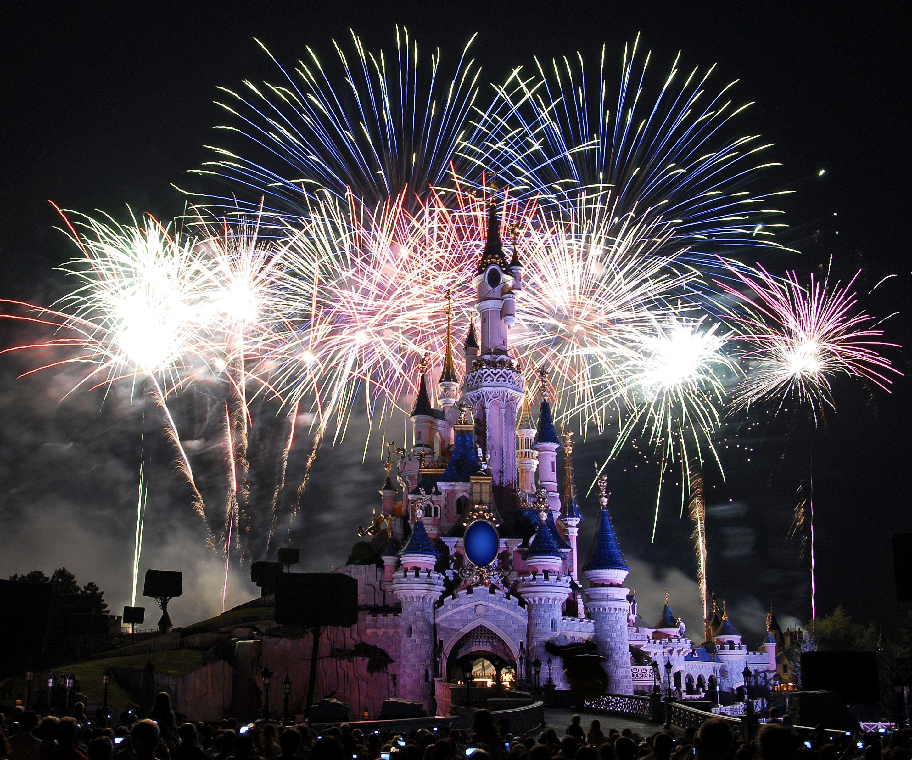 Sleeping Beauty Castle Sleeping Beauty Castle (fireworks ...