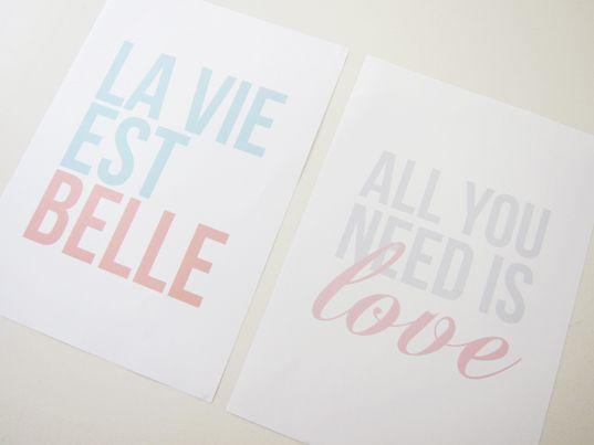 Wall Art – Printable | Detalles boda, Imprimibles y Boda