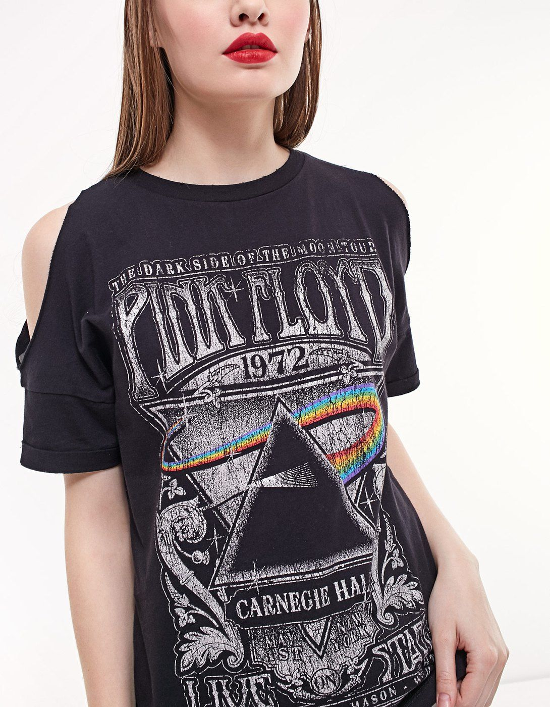 F The Shoulder Pink Floyd Top T Shirts