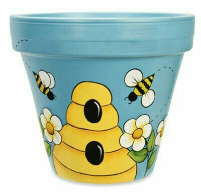 Pin By Penny Crowe On Stuff To Try Clay Pot Crafts Painted Flower Pots Painted Plant Pots