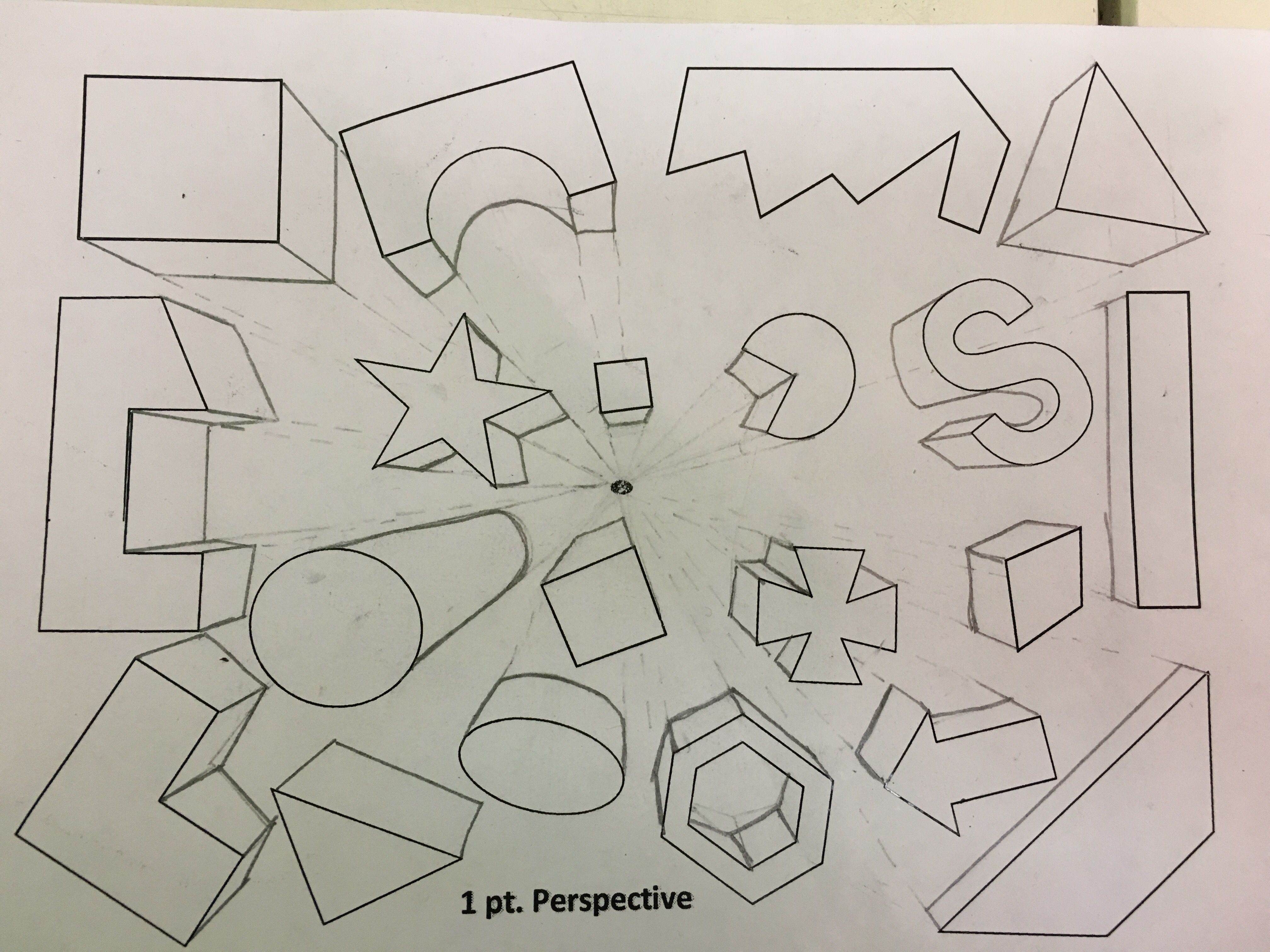1 Pt Perspective Worksheet In