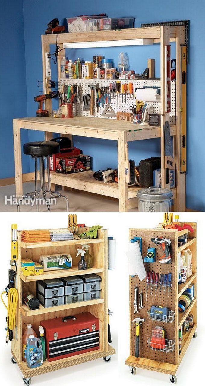 Free Room Design Tool: 21 Inspiring Workshop And Craft Room Ideas For DIY