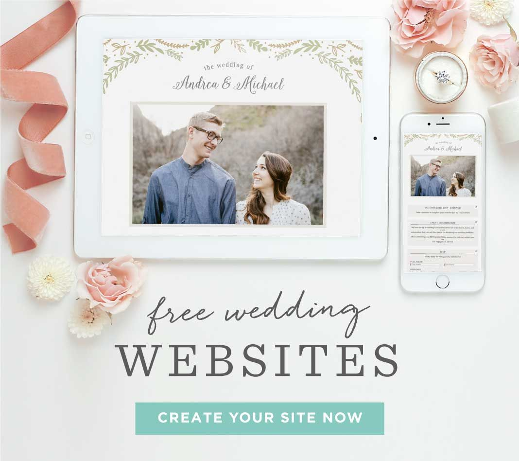 The Watercolor Wash Save-the-Date Magnets   Free wedding websites ...