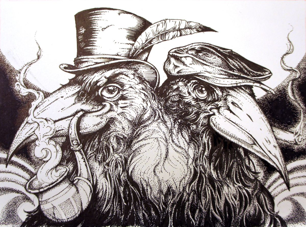 Pen And Ink Drawing Artists images