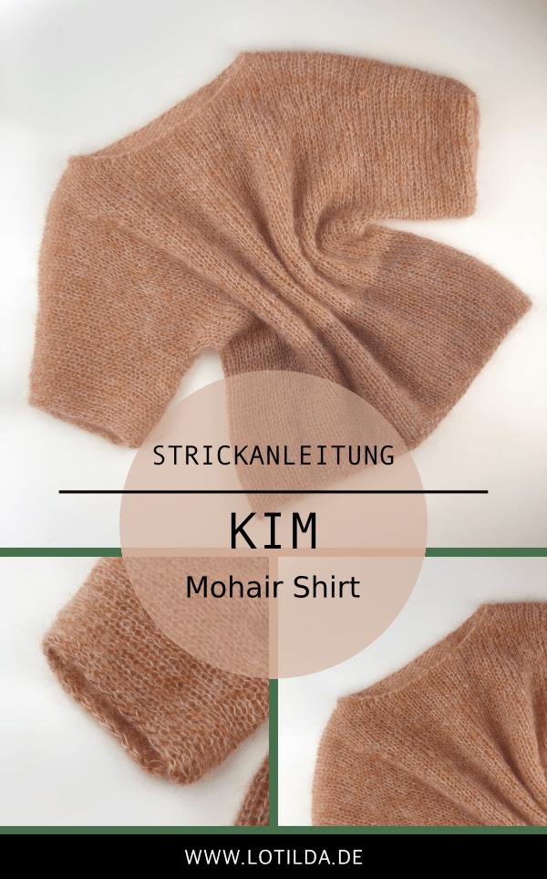 Photo of Strickanleitung – KIM Shirt – Luftiges Sommer Shirt stricken