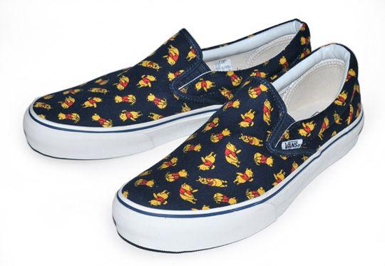 Vans x Winnie The Pooh Slip-On.  Jasmine D can u buy me these! da2317974