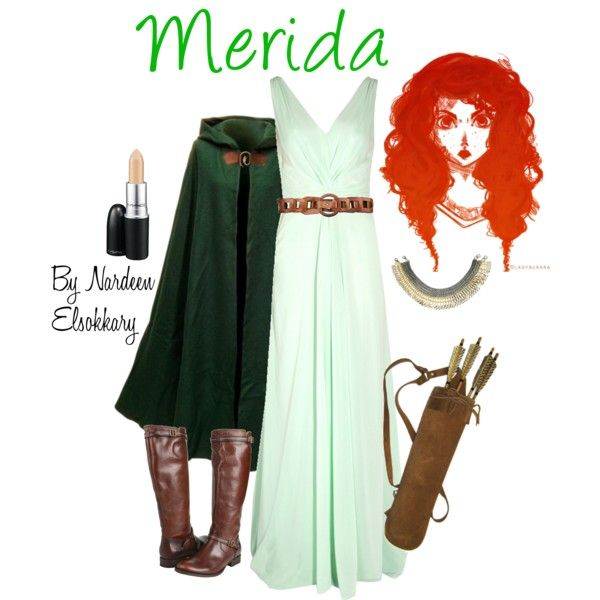 Merida, created by nardeenelsokkary on Polyvore