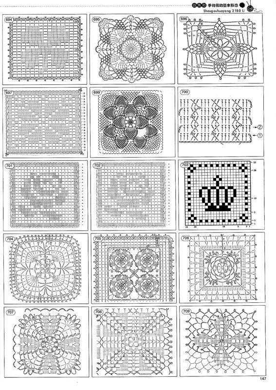 Motif diagrams only - page 34 | manoplas cocina | Pinterest ...