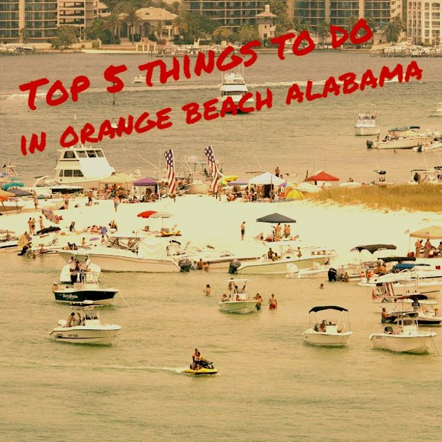 Top 5 Things To Do In Orange Beach Alabama