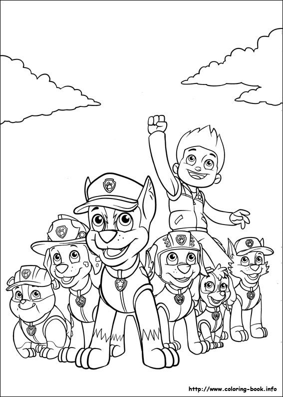 Paw Patrol coloring picture | QUIM LLEO | Pinterest | Colores ...
