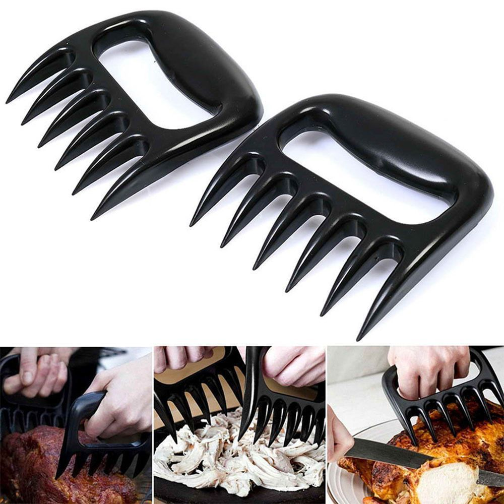 Barbeque BBQ Claw Fork Meat Shredder Bear Claws Grill Pork Puller Smoker Tool
