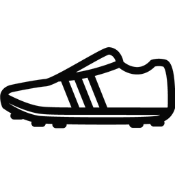 Soccer Shoes Outline Icon Vector Icon Design Best Icons Icon