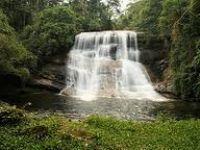 Cachoeira do Sete Queda, em Bananal SP