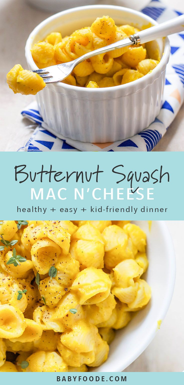 Butternut Squash 'Mac and Cheese' for Toddler images