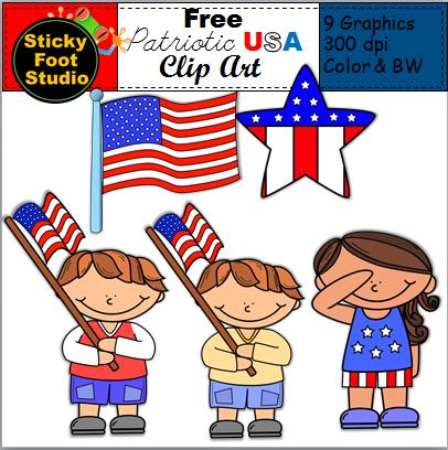 Free Patriotic Clip Art Usa Holidays Made By Teachers Clip Art Veterans Day Clip Art Patriotic