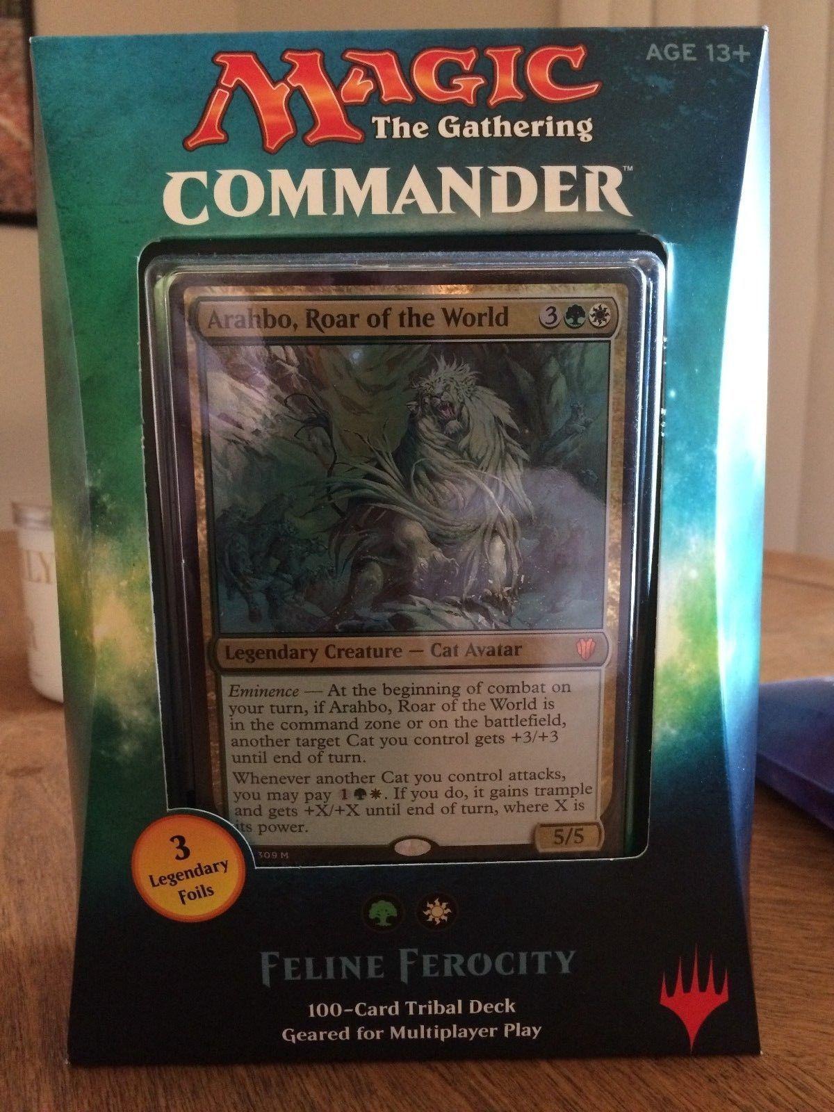 MTG Sealed Decks and Kits 183445: Mtg - Commander 2017 - Feline