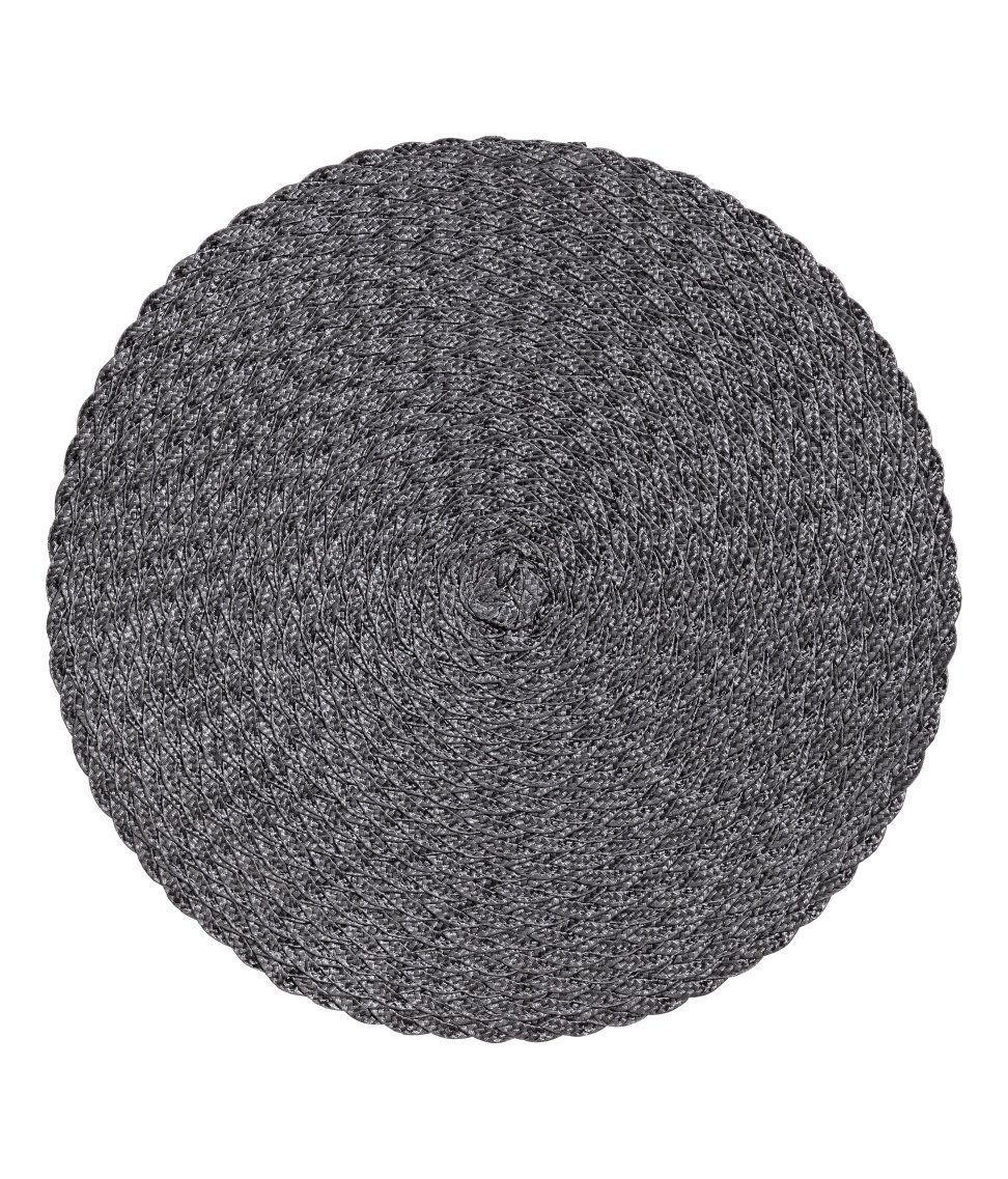 Check This Out Round Braided Placemats Diameter 15 In Visit Hm Com To See More Table Mats Round Table Mats H M