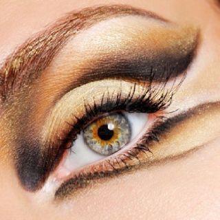 Animalistic - Eye makeup, eyeshadow, art