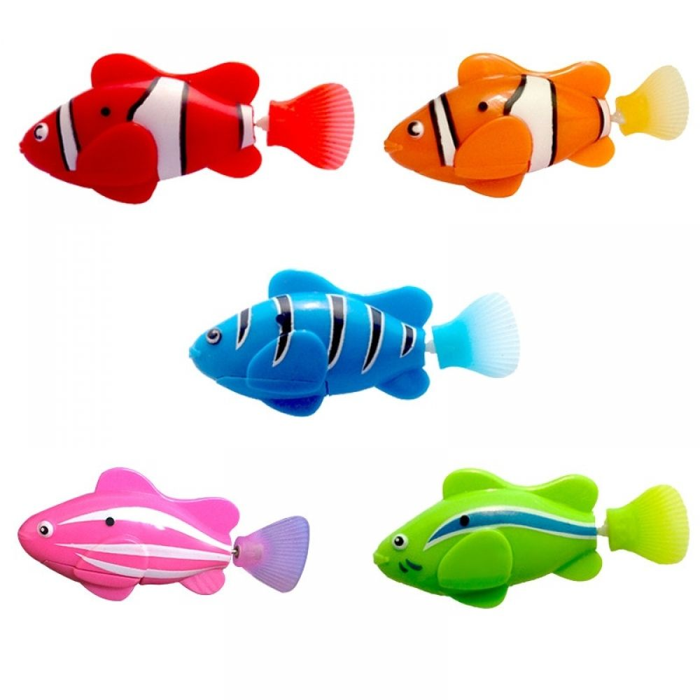 Battery powered swim electronic fish toy price 499