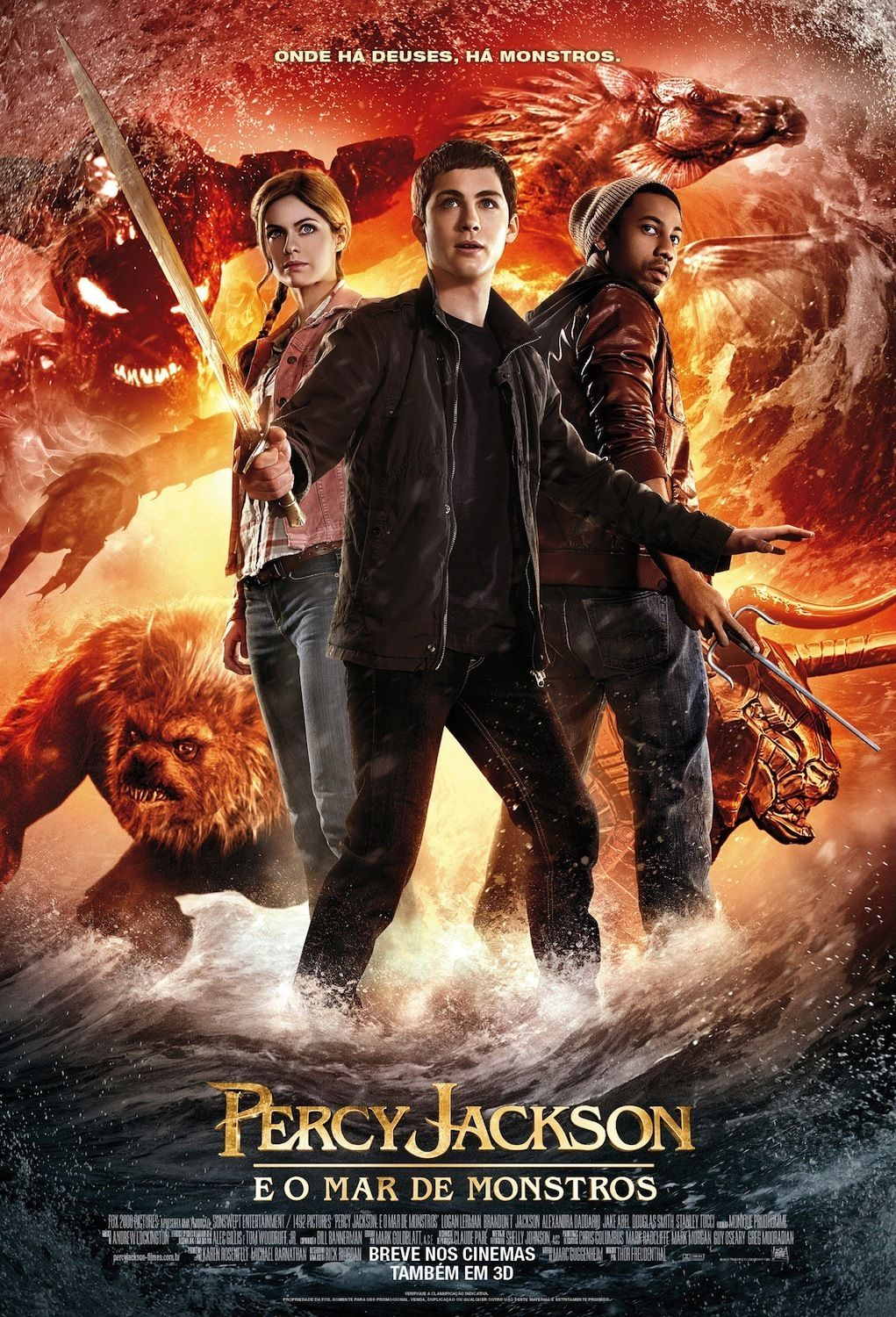 Percy Jackson E O Mar De Monstros O Mar De Monstros Percy