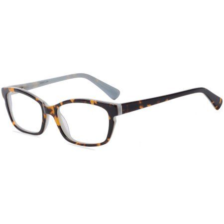 6372b38aa4b Designer Looks for Less Womens Prescription Glasses, DNA4025 Tortoise/Blue