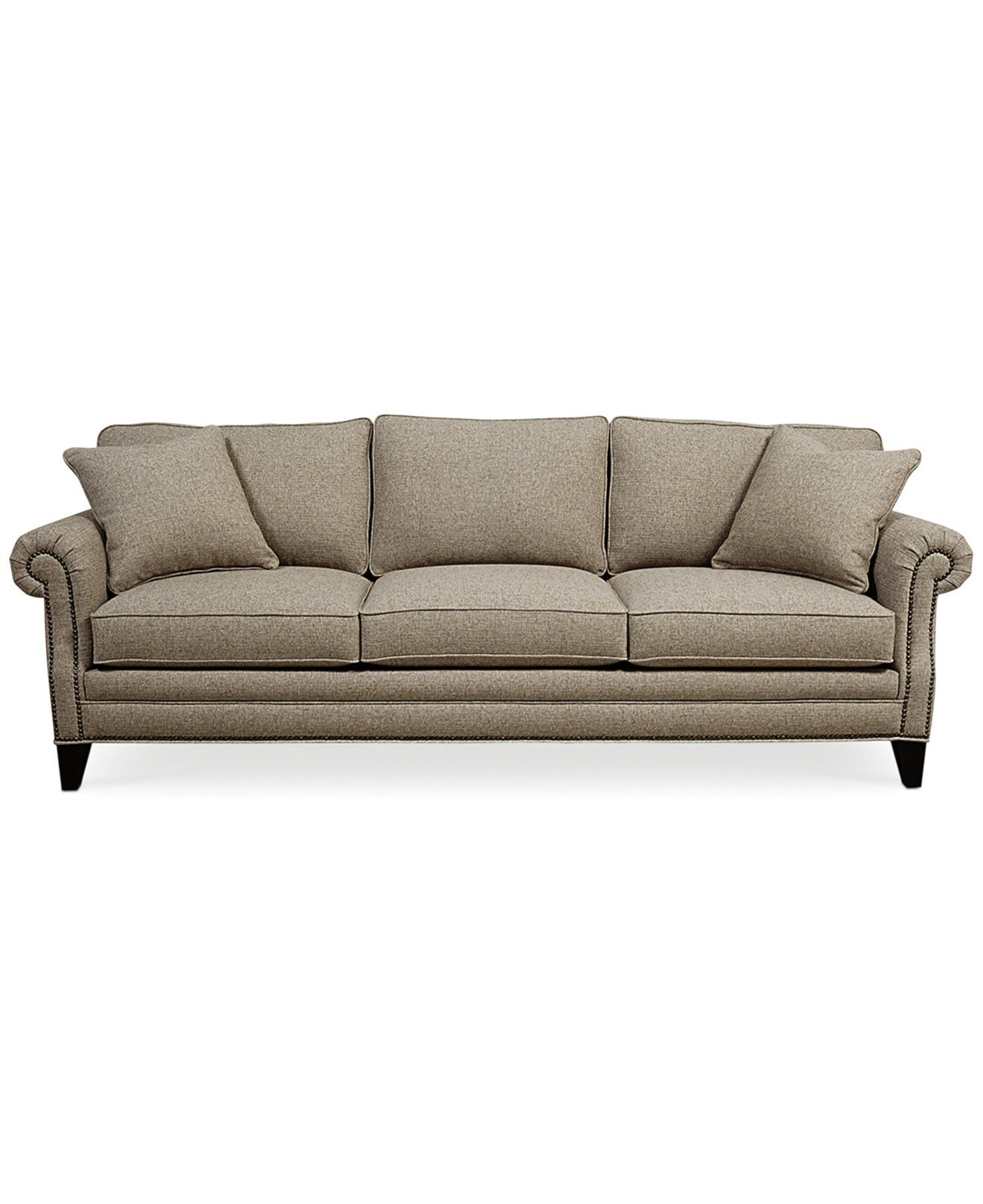 Scarlette Fabric Sofa Furniture Macy S Sofa Fabric Sofa