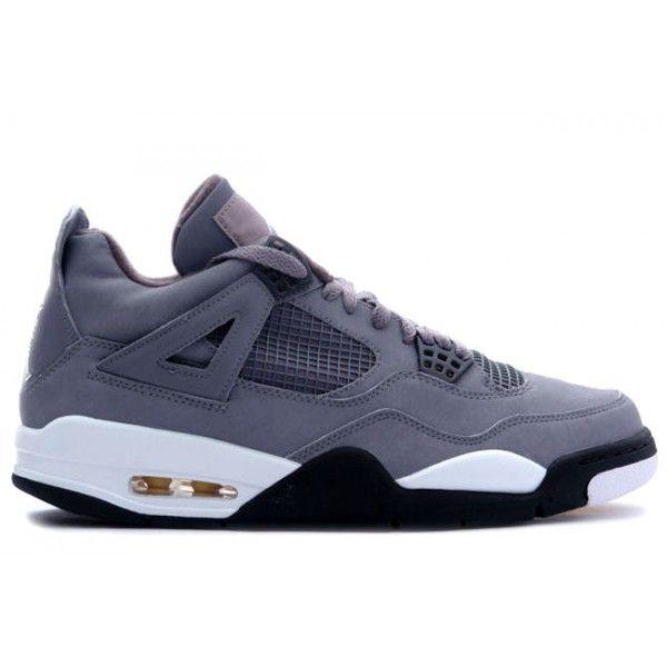 2939e16f77cd 308497 001 Nike Air Jordan 4 IV Retro Cool Grey  Chrome-Dark Charcoal-