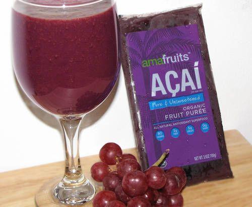 Açai & Grapes Smoothie