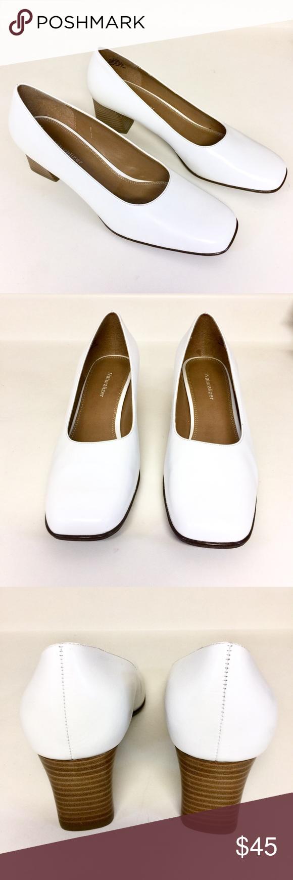 NATURALIZER White Pump Shoes   Pump