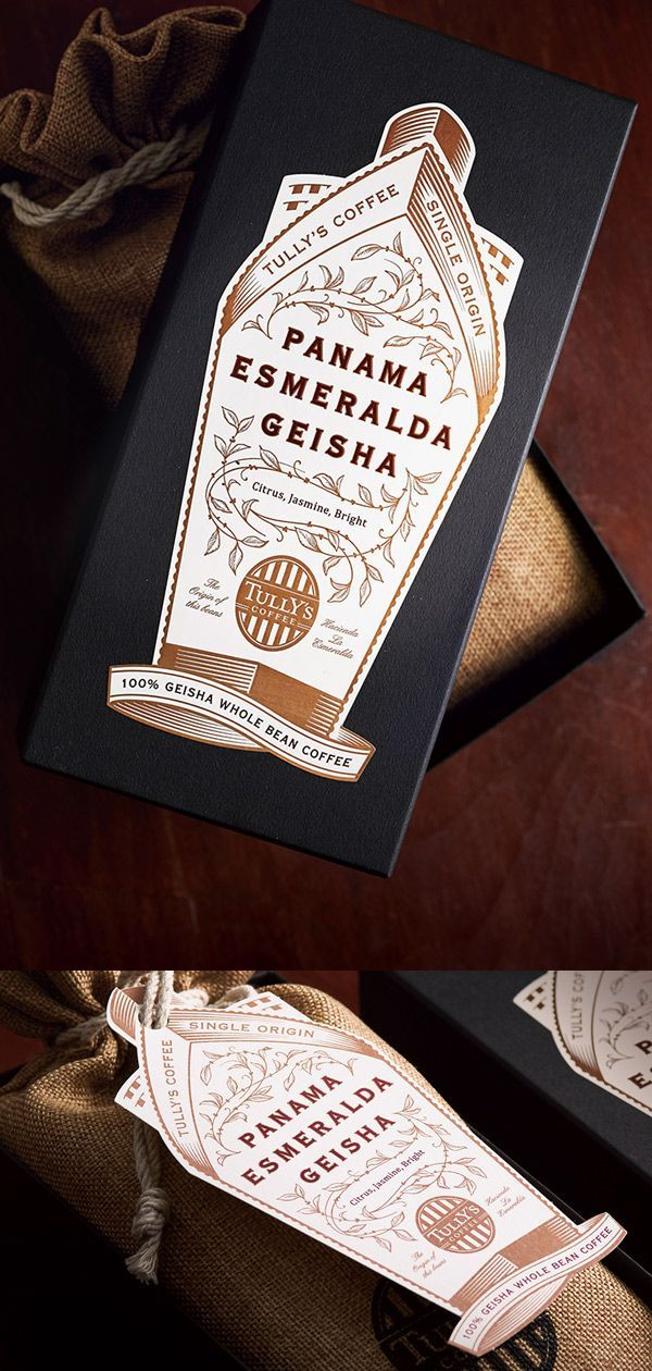 Coffee Beans Package / PANAMA for Tullys Coffee Japan Co