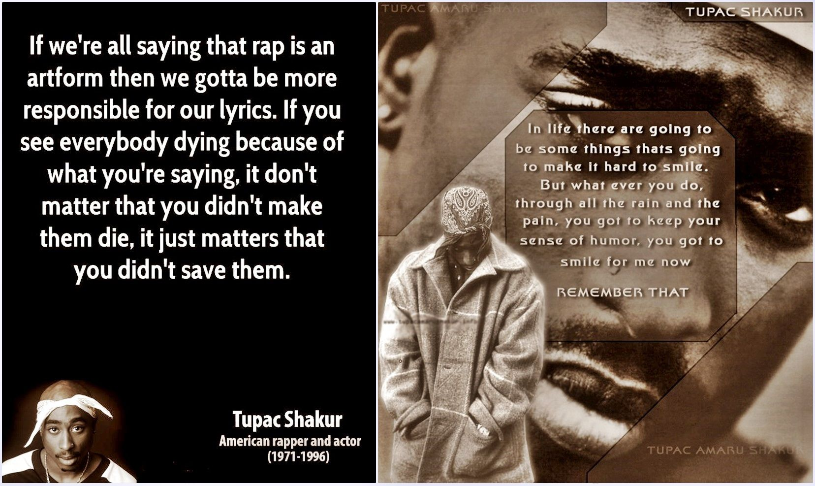 famous quotes tupac amaru shakur Pin Like That Youll Love This on Pinterest