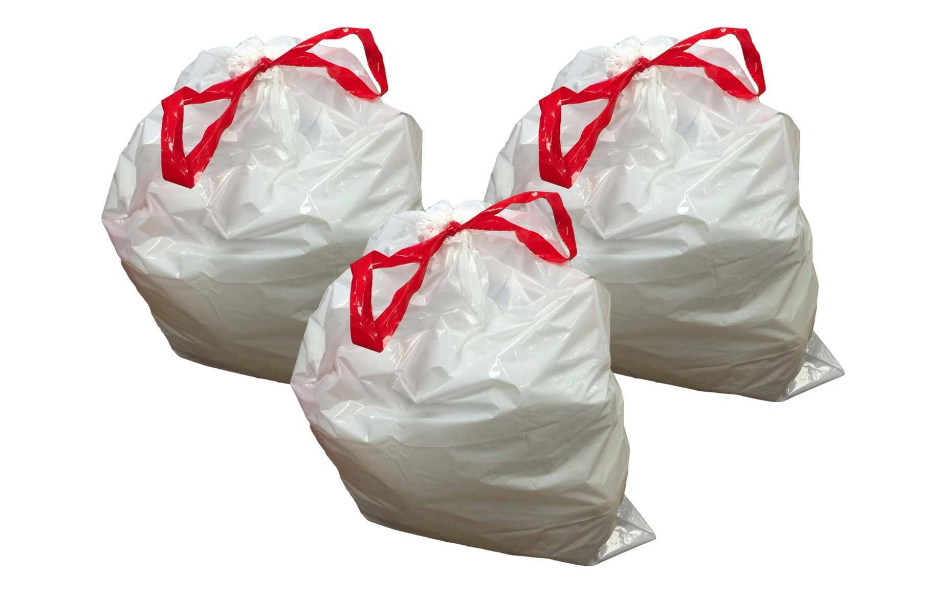 Replacement Garbage Bags Fits Simplehuman Trash Bins 50