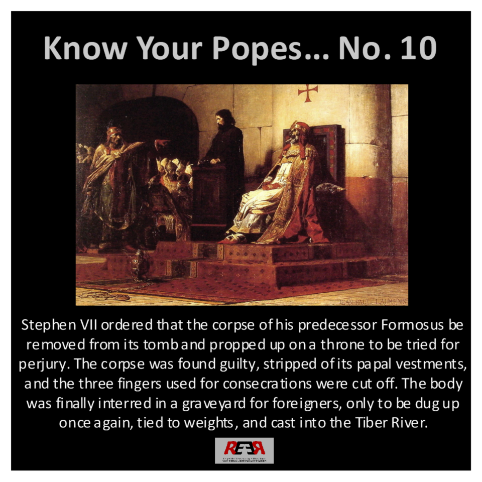Know your Popes No. 10