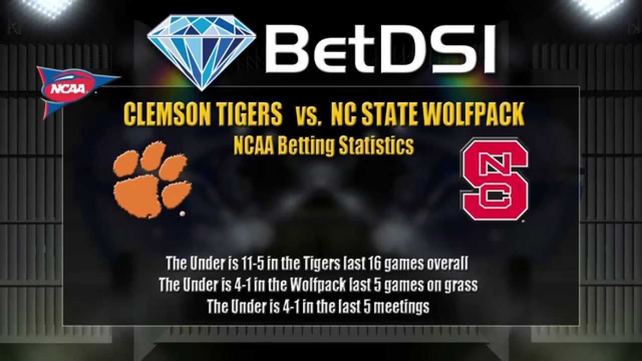 Clemson tigers vs nc state wolfpack odds ncaa football