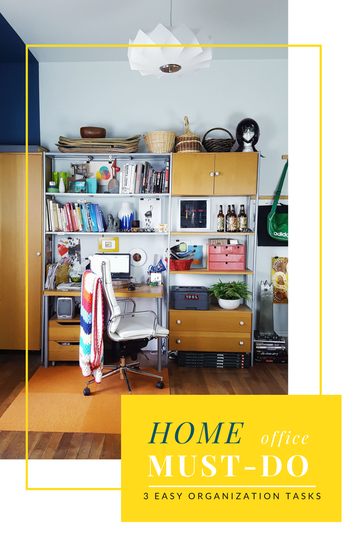 32 Rules for an Organized Home Office   Home office organization ...
