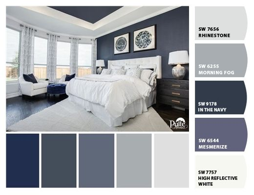 Paint colors from ColorSnap by Sherwin-Williams #masterbedroompaintcolors