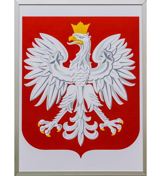 Godlo Polski W Ramie Aluminiowej Plansza Tylko 81 99 Zl W Arttravel Pl Country Flags Canada Flag Rooster