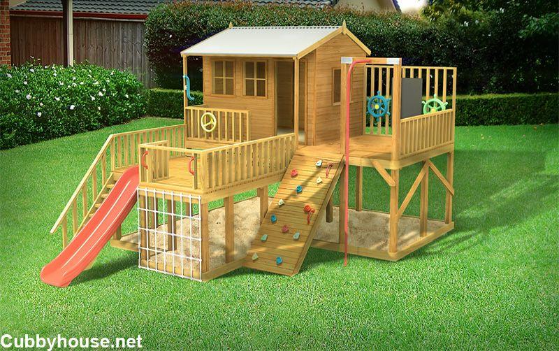 Firefox Playground Cubby House Cubby House Australia