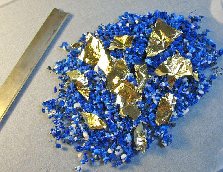 HowTo Make Faux Lapis Lazuli I do hope this looks ...