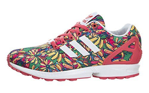 b75cd9a23ee adidas Women's ZX Flux Spring Flowers Fashion Sneakers -  http://shoebox.henryhstevens