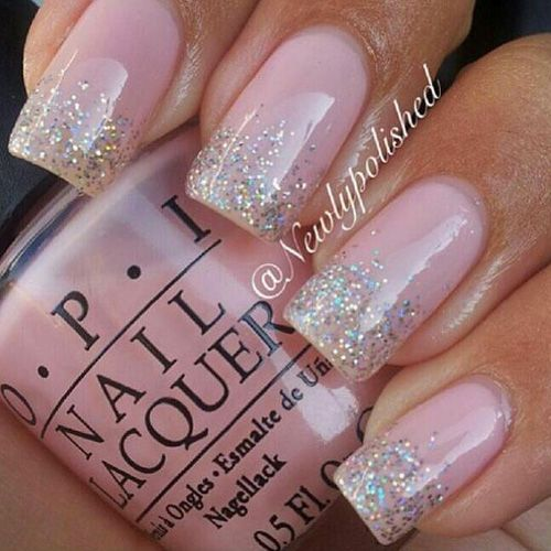 Best Glitter Nails 44 Nails That Sparkle In The Light Light