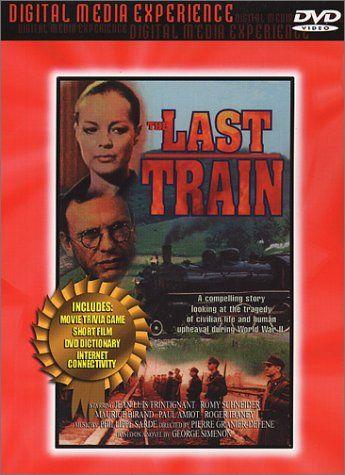 The Last Train Le Train Import Usa Zone 1 Brentwood C Https Www Amazon Fr Dp B00005b31u Ref Cm Sw R Pi Dp X 2mouybcshq4gs Romy Schneider Tendresse Dvd