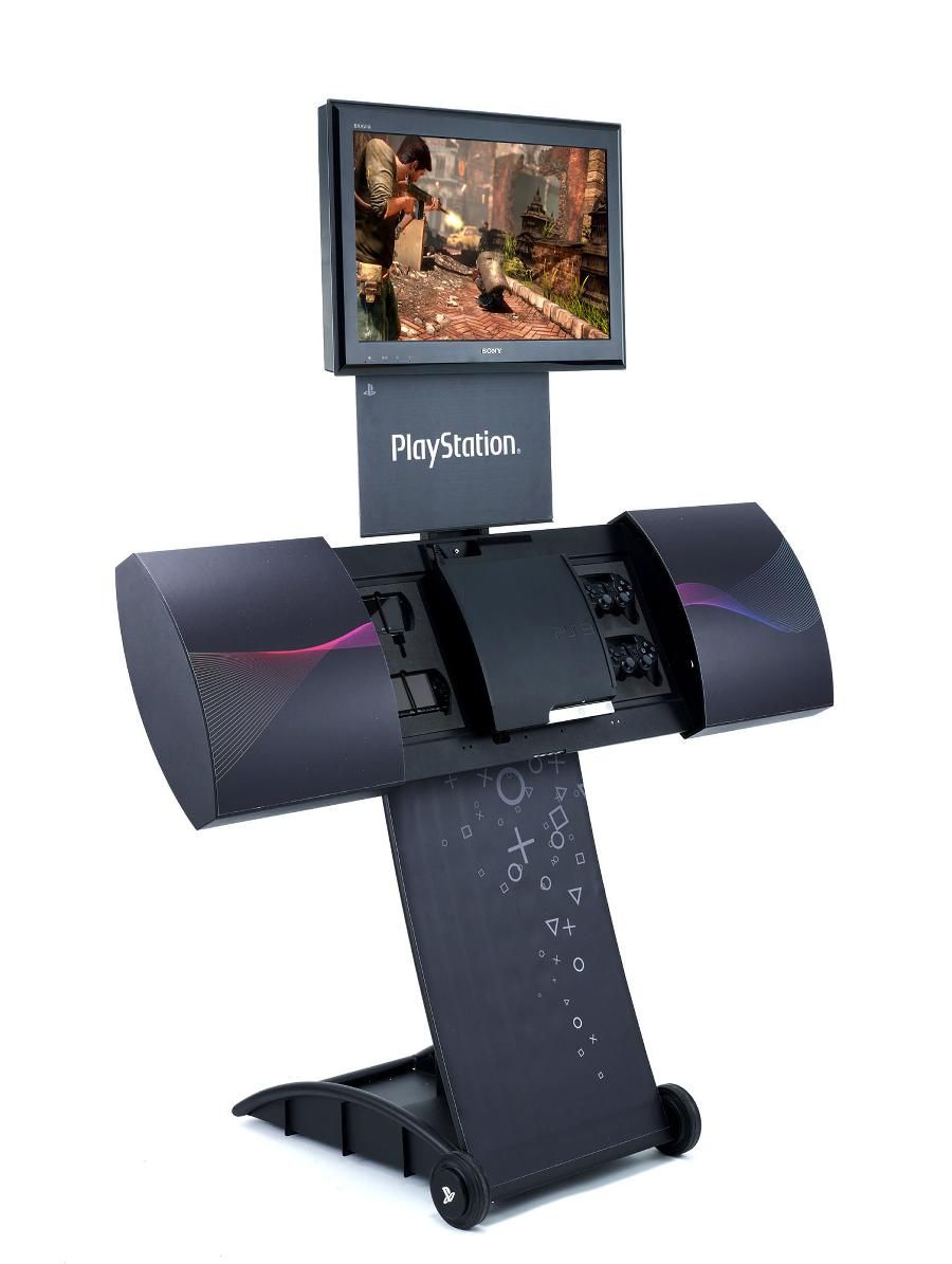 PlayStation Move Retail Furniture Business design