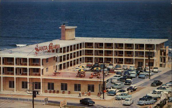 Hotels In Ocean City Md >> Santa Maria Motor Hotel In 2019 Ocean Front Property