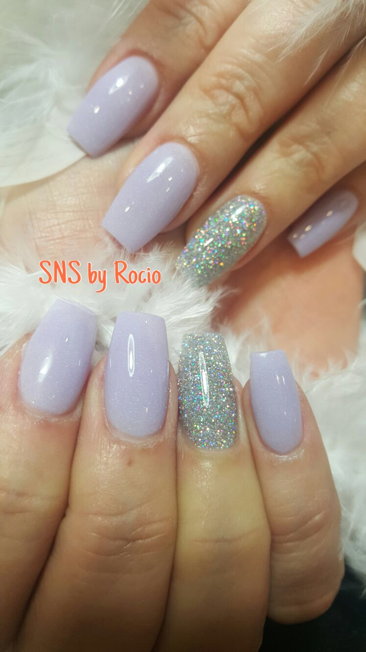 SNS nails (dipping powder) by Rocio ! | Nails (SNS ) | Pinterest ...