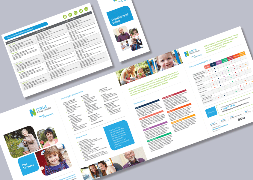 Health Provider Dl And A4 Brochure Word Templates Brochures