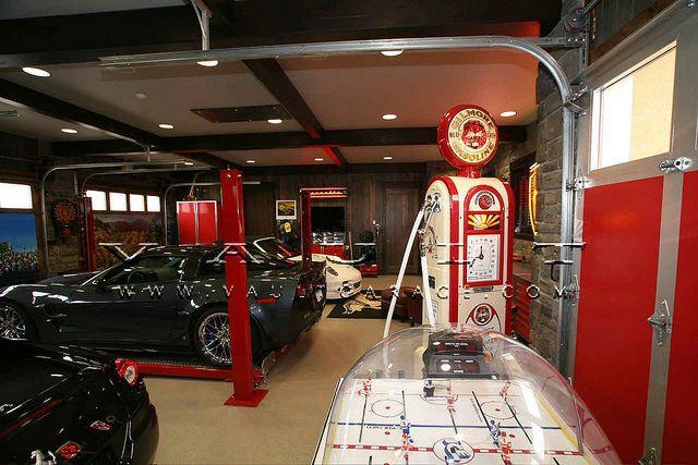 Custom Garage Design And Furnished By Vault By Vaultgarage Via