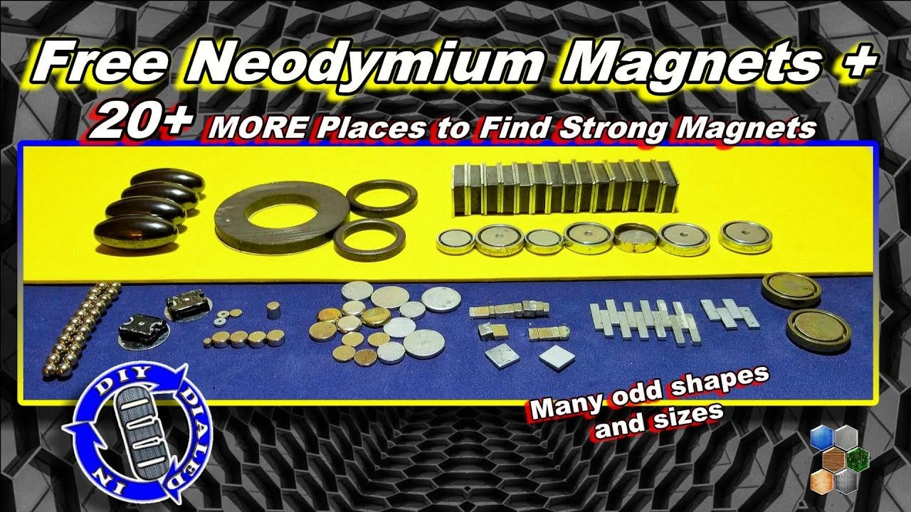 Free Neodymium How To Find Strong Free