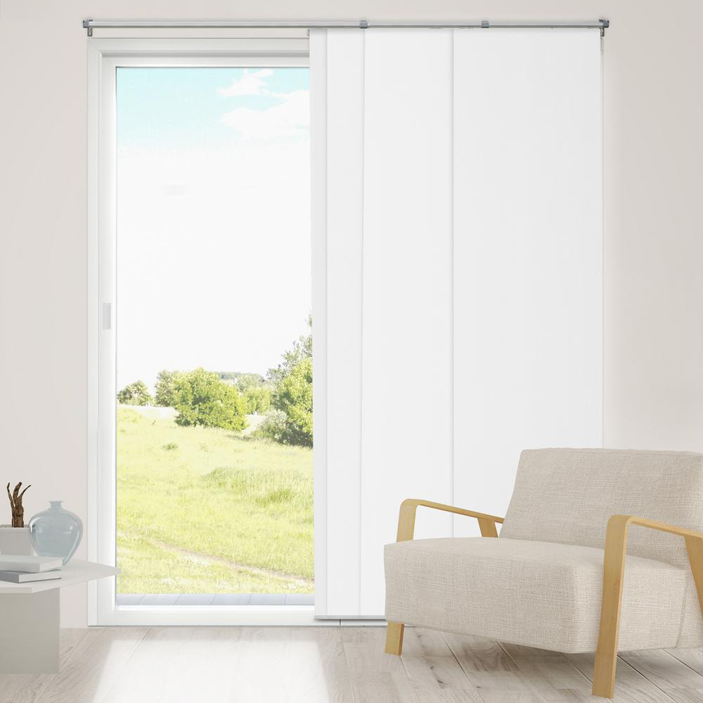 Chicology Panel Track Blinds Urban Grey Cordless Light Filtering